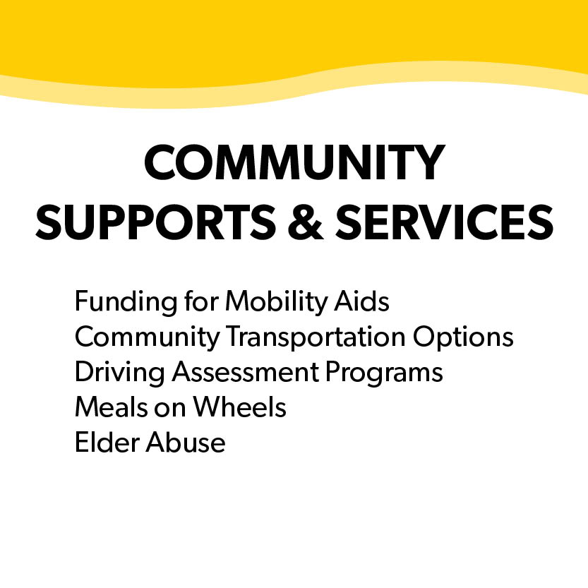 Community Supports & Services
