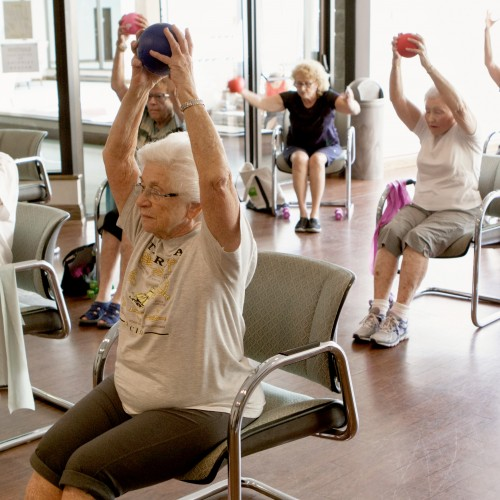Exercise and Falls Prevention classes are run by Circle of Care to help seniors with their health.