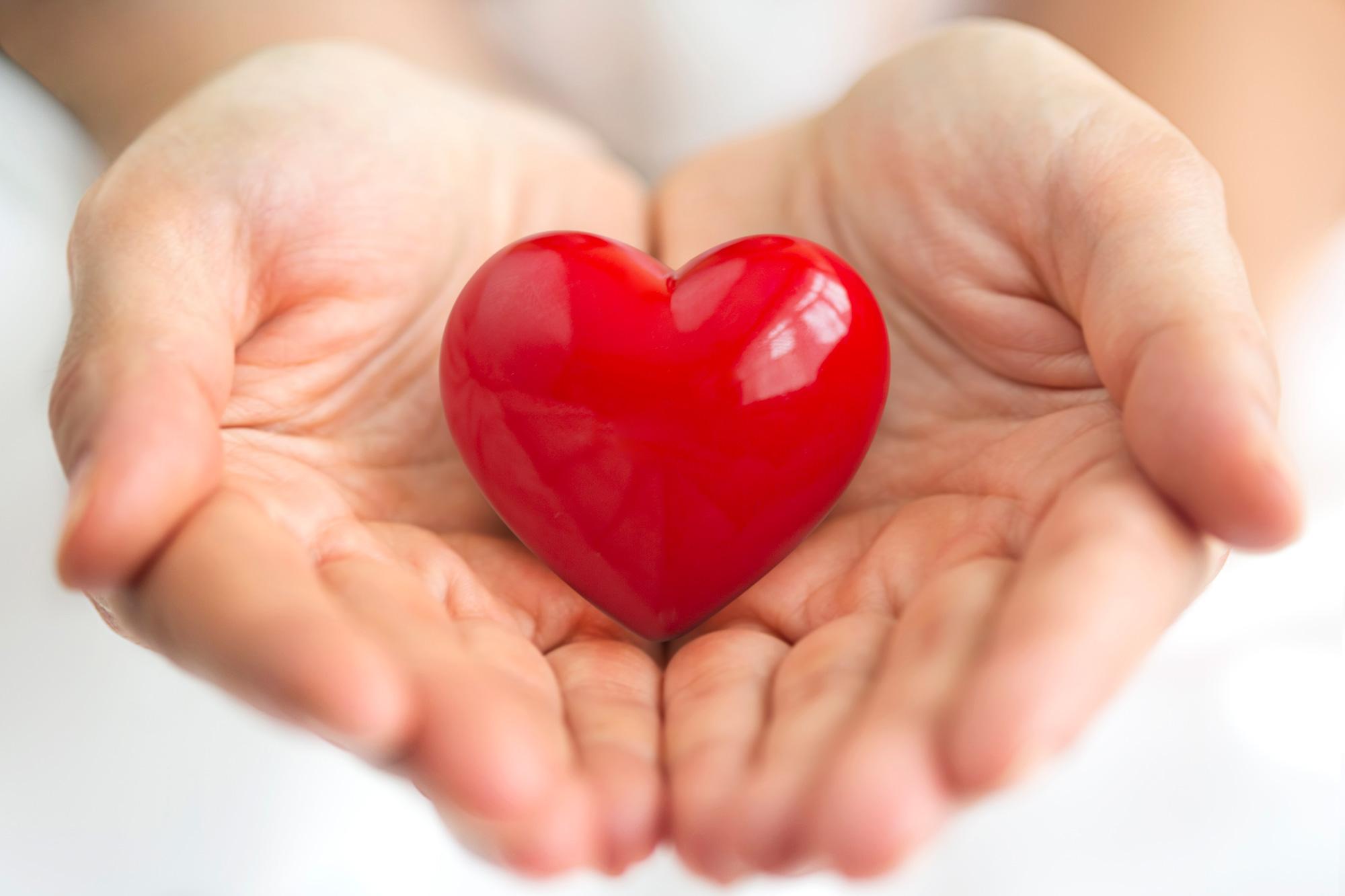 Картинки сердце не ладони
