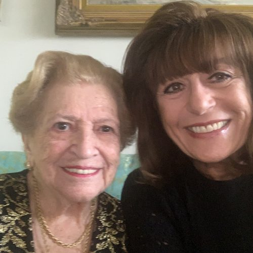 Image of Barbra and client