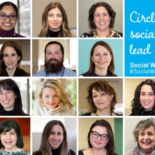 Collage of social workers at Circle of Care