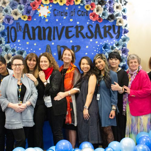 image of ADP staff at the 10th anniversary gala