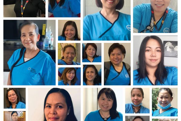 Collage of Circle of Care PSWs