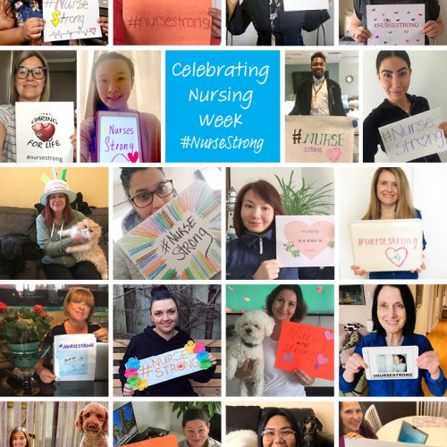 Collage of Circle of Care nursing staff