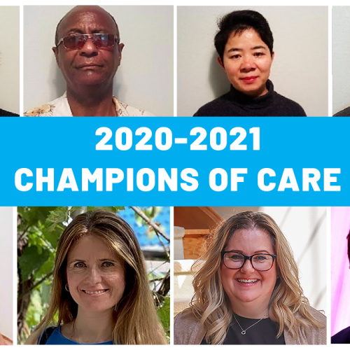 champions of care award winners